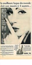 PUBLICITE ADVERTISING 044   1960   CHEN YU   cosmétiques vernis à ongles
