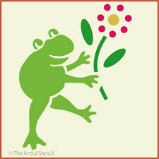 FROGGIE STENCIL - CHILDREN- FROG - The Artful Stencil