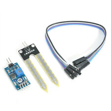 New Soil Humidity Hygrometer Moisture Detection Sensor Module Arduino With Wires