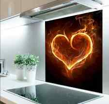 60cm x 75cm Digital Print Glass Splashback Heat Resistant  Toughened 308