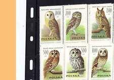 POLAND 1990 -ZN**cott 2995-00** - Sowy, Owls