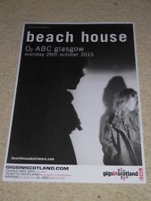 Beach House CONCERT POSTER oct 2015 live music show gig tour poster