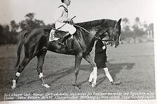 19539 Foto Internat. Pferde Jagd Rennen Amateur Rennreiter Mülheim 15. 10. 1949