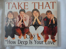 Take That-:'How deep is your love''CD2 (contains 4 singles)