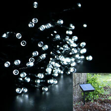 50-LED Solar Power String Fairy Light Party Xmas Outdoor Garden Tree Decor White