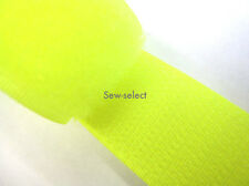 25mt NEON YELLOW RIPFAST™ HOOK AND LOOP 25mm TAPE TOUCH AND CLOSE SEW TAPES