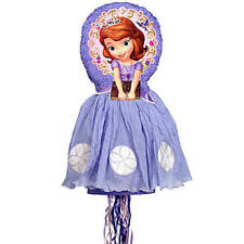 Disney Sofia the First 3-D Premium Pull Pinata Birthday theme party