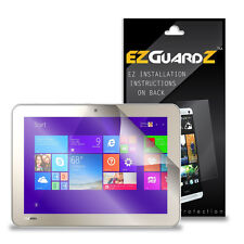 "2X EZguardz Screen Protector Cover HD 2X For Toshiba Encore 2 WT10 10"" Tablet"