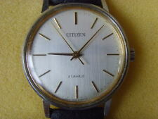 Vintage Citizen 21J Mechanical Manual Used Watch
