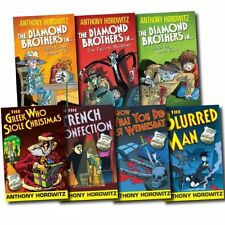 Anthony Horowitz 7 Books Set Diamond Brothers Pack New