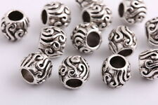 20 pieces Tibetan silver Spacer beads Bracelets necklaces Charms 10mm