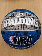 Spalding NBA Graffiti Basketball Ball Official Game Sports Size-7.