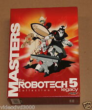 Robotech Legacy - Vol. 5: Robotech Masters COLLECTION (DVD, 2001, 3-Disc Set)