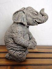 """NIB-  HERD / Martha Carey MARTY #3162 ELLA FONT ELEPHANT Figurine 4"""" x 3"""""""