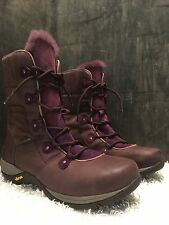 Dansko Camryn Boots Brown & Purple Fur size 42  USA: 11.5-12