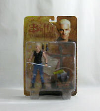 "NEW 2004 Buffy Vampire Slayer ✧ SPIKE ✧ Fool For Love 6"" Action Figure MOC"