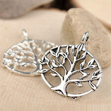 10pc Tibetan Silver Charms Tree Of Life Pendant Beads Jewellery Making B682P