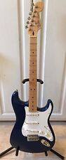 2007 Fender Standard Stratocaster Electric Guitar RARE! Electron Blue EXC! MINT!