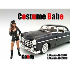 COSTUME BABE CANDY FIGURE FOR 1:18 SCALE MODELS BY AMERICAN DIORAMA 23871