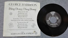 "GEORGE HARRISON – ""DING DONG; DING DONG"" USA VINYL SINGLE"