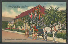 PPC #H93* GOOD POSTCARD OLDEST HOUSE IN THE U S ST AUGUSTINE FL POSTED