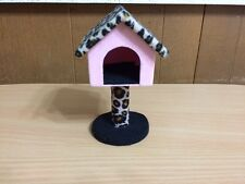 Barbie Doll Fashion Fever Animal Print Kitty Corner Cat House Bedroom Furniture