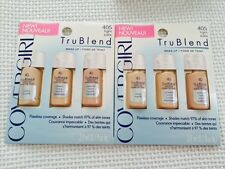 CoverGirl TruBlend Liquid Makeup Sample in #405 Light Pale - 2 Packages