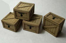 FPW Model german wood crates 1/35 scale WWII double sided, NEW (FPW 35101)
