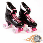 Ventro Pro Turbo Quad Roller Skate, Bauer Style - Pink