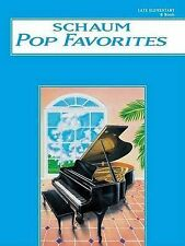 Schaum Pop Favorites, B Book: Late Elementary by Alfred Publishing Co., Inc....