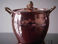 Williams-Sonoma Ruffoni Copper Artichoke Handled Stock Pot 4 3/4 qt NEW