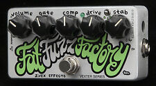 Z.VEX ZVex Effects Pedal, Vexter FAT FUZZ FACTORY, Brand New, Free Shipping