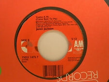 Janet Jackson 45 COME BACK TO ME / VUELVA... in Spanish ~ VG+