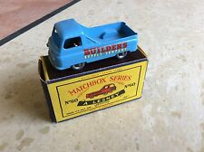 MATCHBOX LESNEY No.60a MORRIS J2 PICK-UP,  C BOX