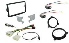 Dacia Duster 12 On Double Din Facia + ISO + Aerial Adapters + Speaker Pack