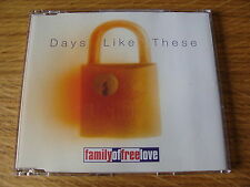 CD Single: Family Of Free Love : Days Like These