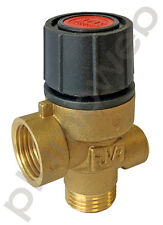 Ariston 998447 Spare Boiler Safety Pressure Relief Valve with Gauge Port