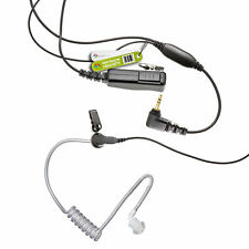HEAVY DUTY EARPIECE FOR 1 PIN MOTOROLA RADIO XTR, XTR446, XTL446, XTX446, PMR446