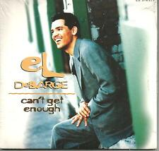 EL DEBARGE Can't get enough / you to tune me on LIMITD USA CD single SEALED 1992