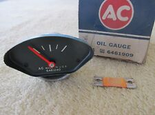 * NOS 1968 Pontiac GTO Ram Air II 400 HO Rally Dash Oil Gauge GM 6461909