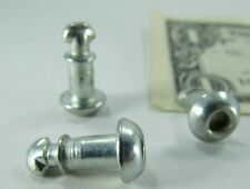 Lot 25 Southco Dzus 1/4 Turn Fasteners, Lobed Quarter Turn Screws, Quick Release