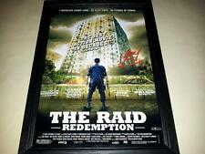 "THE RAID : REDEMPTION SIGNED & FRAMED 12""X8"" POSTER IKO UWAIS"