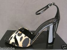 Giuseppe Zanotti Design Italy Event Animal Print Shiny Shoes Heels 40 10