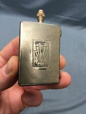 Vintage Art Deco The Match King Striker Lighter