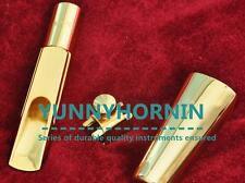 Concerts GOLD PLATED Bb Tenor Saxophone Mouthpiece Metal Sax MPC BRAND NEW 5-9