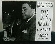 10 CD-Box * FATS WALLER - Portrait Vol. 1 * With 40 Page Booklet * 209 Tracks