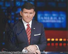 FOX NEWS HOST BRET BAIER SIGNED 8X10 PHOTO W/COA THE SPECIAL REPORT
