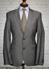 River Island White Label Grey Single Breasted Suit Jacket 40R