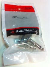 "Mono 1/4"" Phone Plug #274-0254 By RadioShack"