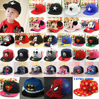 Baby Boy Girl Kids Sun Hat Hip-hop Peaked Visor Snapback Adjustable Baseball Cap